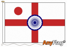 VICE ADMIRAL OF THE INDIAN NAVAL RANK ENSIGN   ANYFLAG RANGE - VARIOUS SIZES